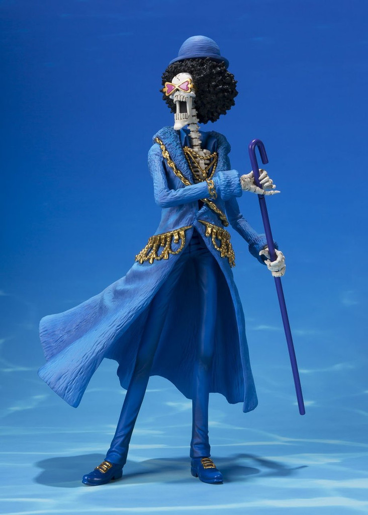 Bandai 177470 Figuarts ZERO Brook One Piece 20th Anniversary Figure