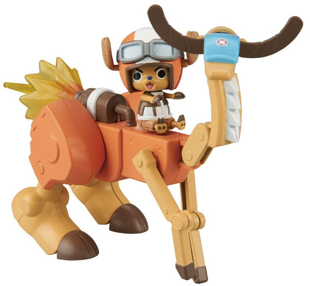Bandai ONE PIECE CHOPPER ROBO SUPER 5 Walk Hopper non scale kit