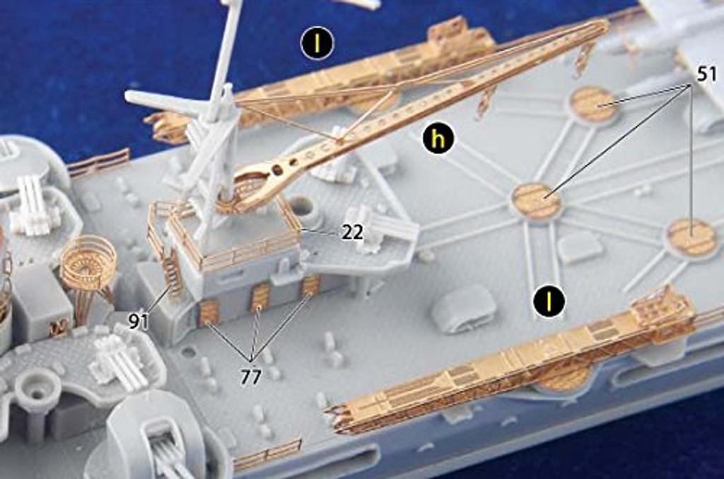 Fujimi TOKU SP75 IJN Cruiser Mogami 1943/1944 DX 1/700 scale kit