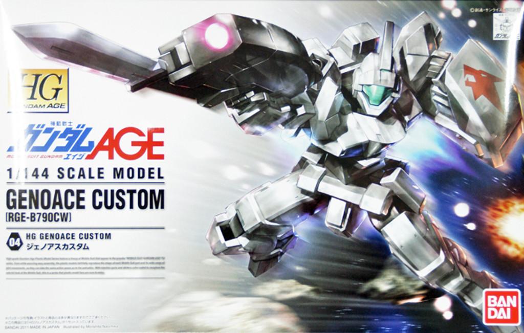 Bandai Gundam HG AGE-04 GENOACE CUSTOM(RGE-B790CW) 1/144 Scale Kit