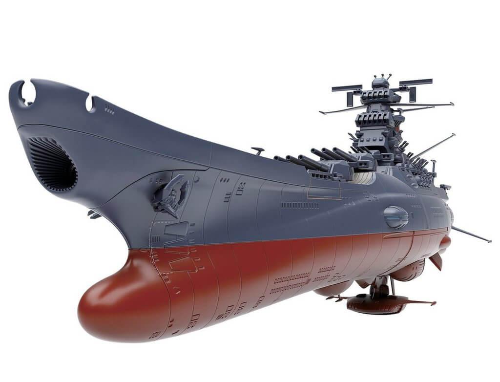 ... Bandai 195528 Yamato 2202 Space Battleship Yamato 2202 1/1000 Scale Kit  ...