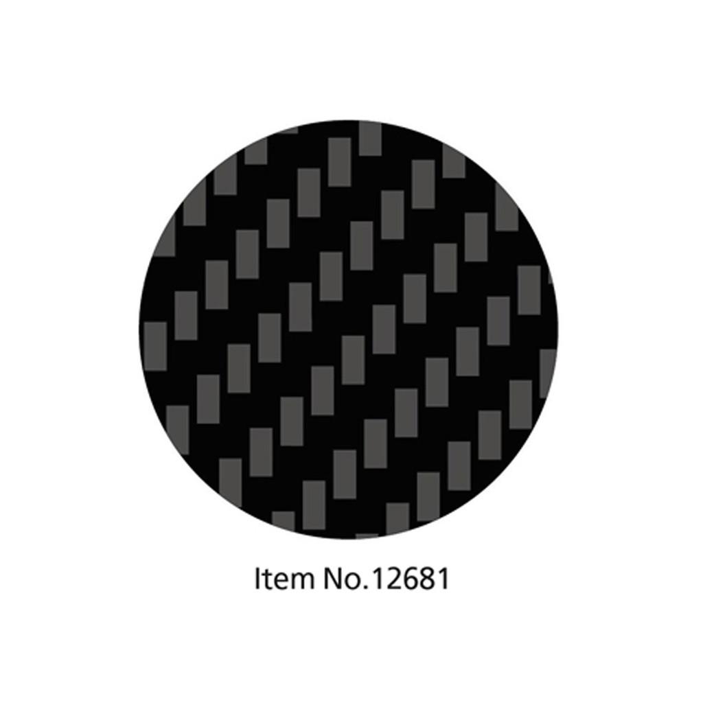 Tamiya 12681 Carbon Pattern Decal Set Twill Weave/Fine