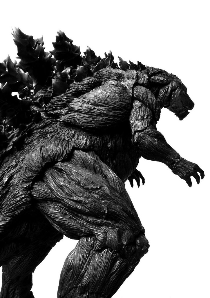 Bandai 192831 S.H. MonsterArts Godzilla (2017) Initial Production Limited Edition Figure