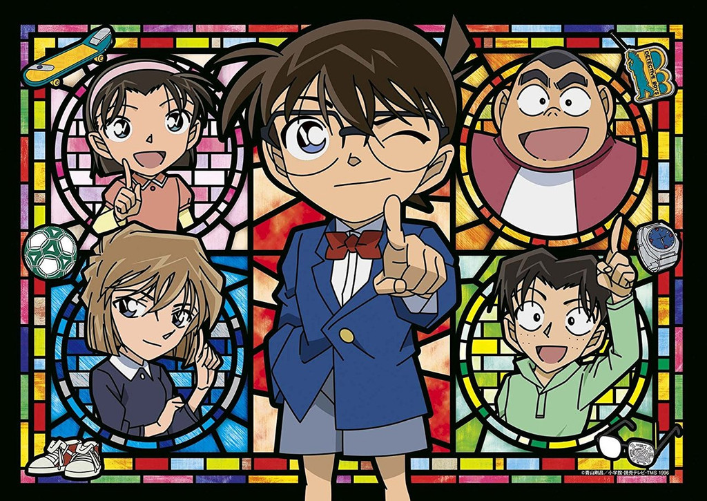 Epoch Jigsaw Puzzle 55-104 Case Closed Detective Conan Detective Boys (216 S-Pieces)
