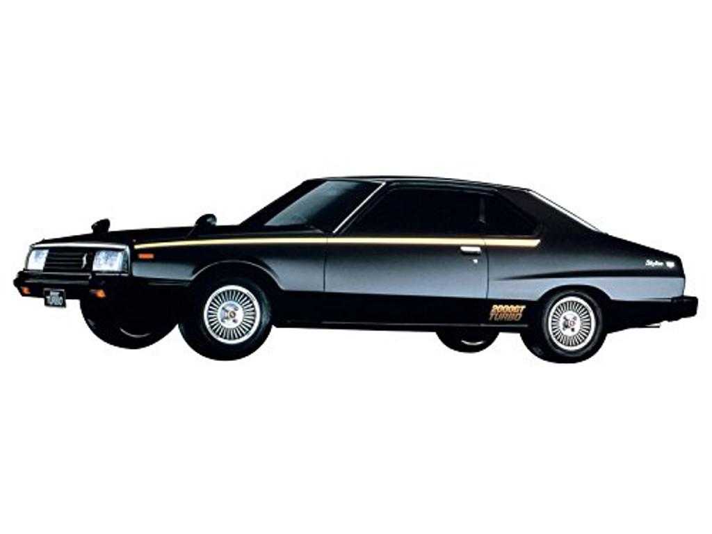 Aoshima 54338 The Model Car 56 NISSAN KHGC211 SKYLINE HT2000TURBO 1/24 scale kit