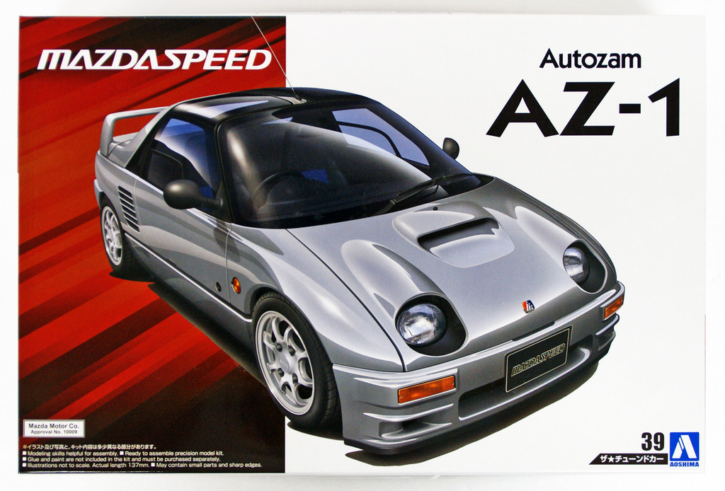 Aoshima 54482 MAZDA SPEED PG6SA AZ-1 '92 (MAZDA) 1/24 Scale Kit