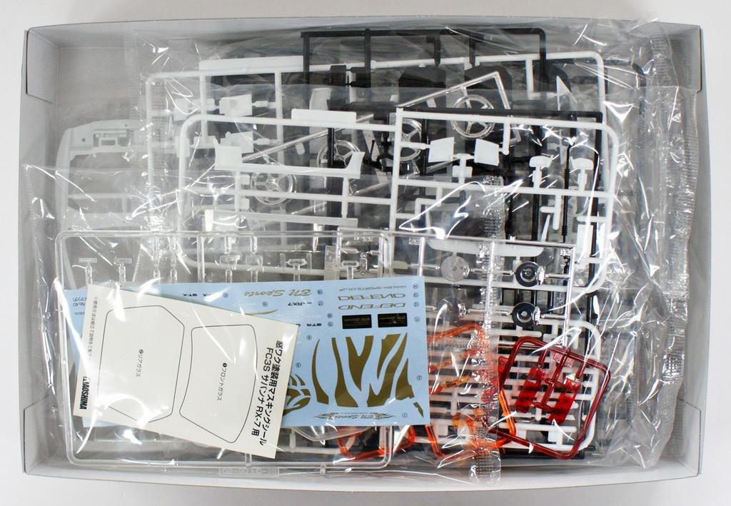 Aoshima 54499 BN SPORTS FC3S RX-7 '89 (MAZDA) 1/24 Scale Kit