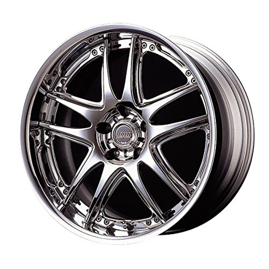 Aoshima 54628 Tuned Parts 71 VOLK RACING GT-V 19inch Tire & Wheel Set
