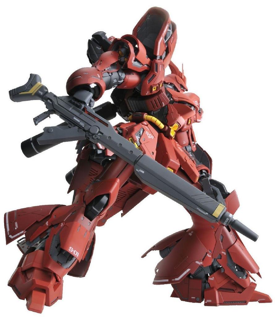 Bandai MG 222415 Gundam Neo Zeon MSN-04 Sazabi Version Ka with Special Decal 1/100 Scale Kit