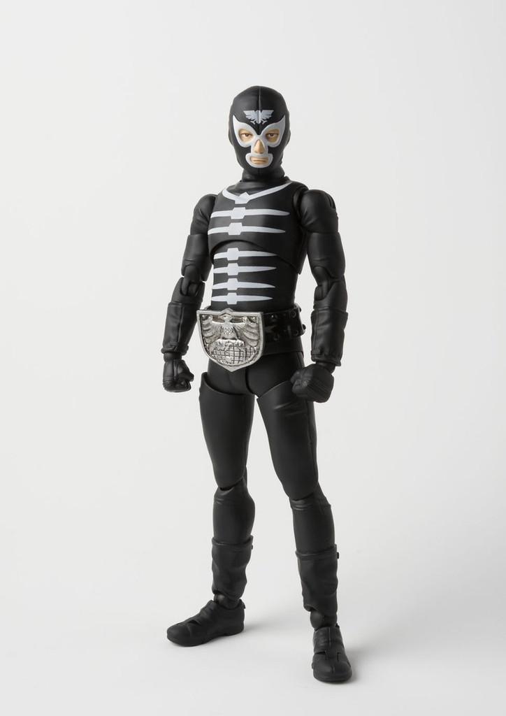 Bandai 198185 S.H. Figuarts Kamen Rider Shocker Combatmen (Bone) Figure