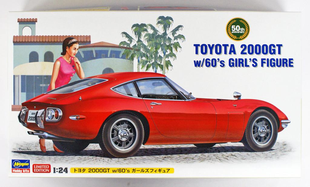 Hasegawa SP366 Toyota 2000 GT w/ Girls Figure 1/24 scale kit