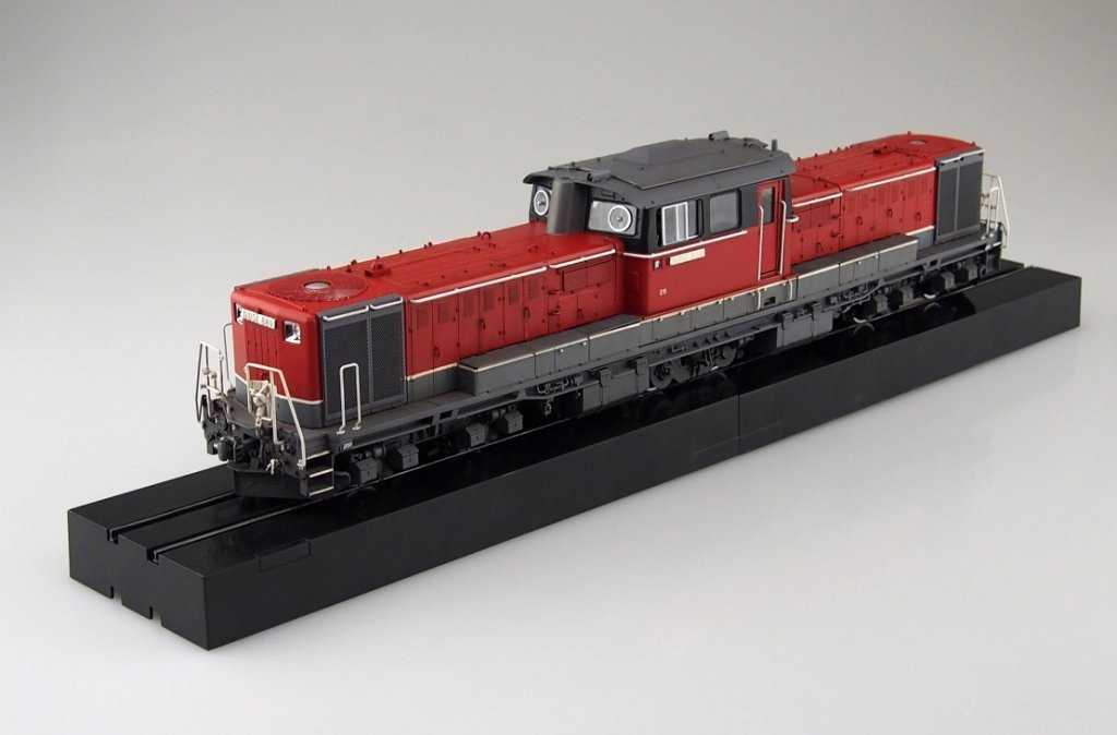 Aoshima 09987 Train Museum OJ Series #03 Diesel Locomotive DD51 Renewed 1/45