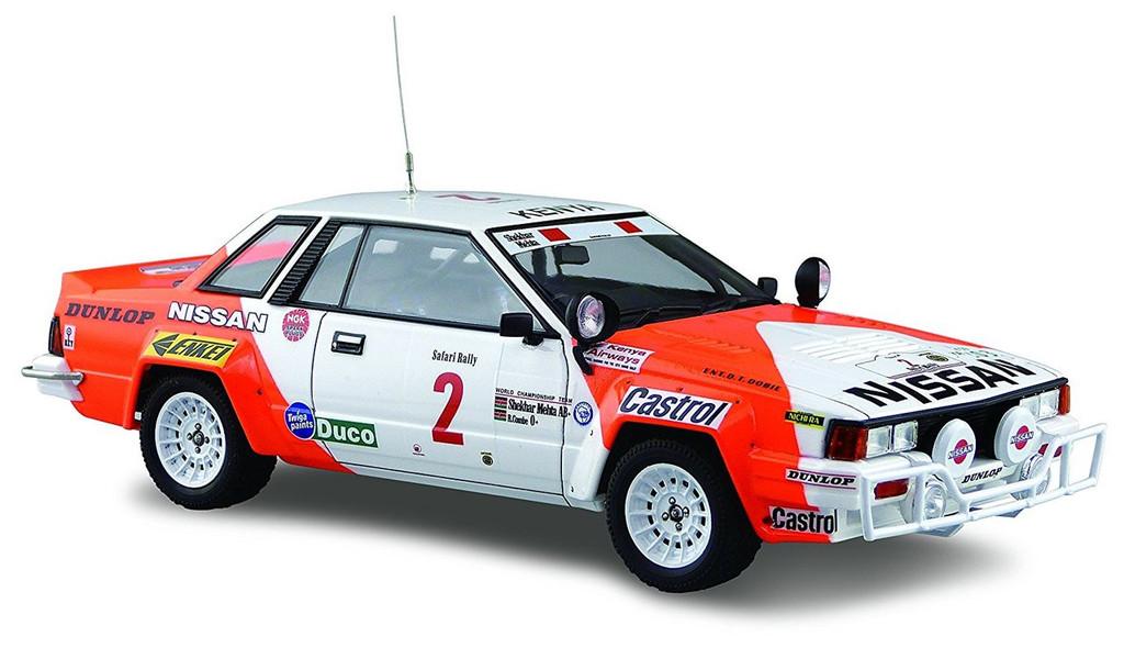Aoshima 04330 Nissan 240RS BS110 '84 Safari Rally Ver. 1/24 scale kit