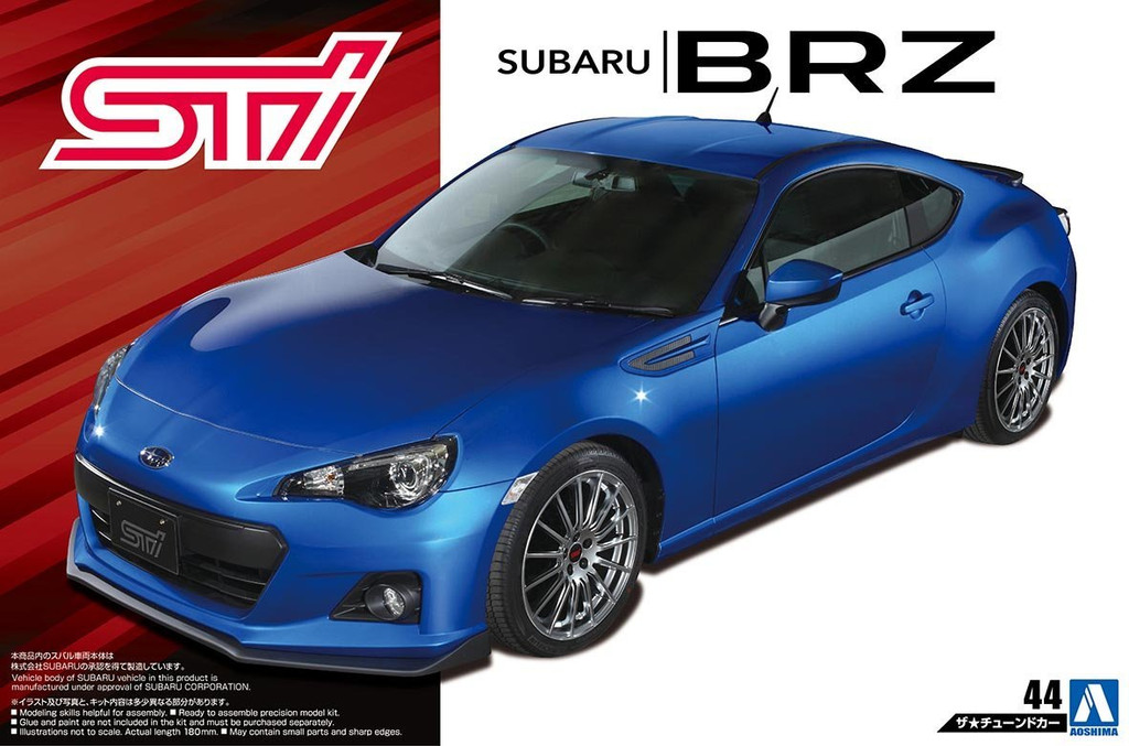 Aoshima 54536 STI ZC6 SUBARU BRZ '12 (SUBARU) 1/24 scale kit