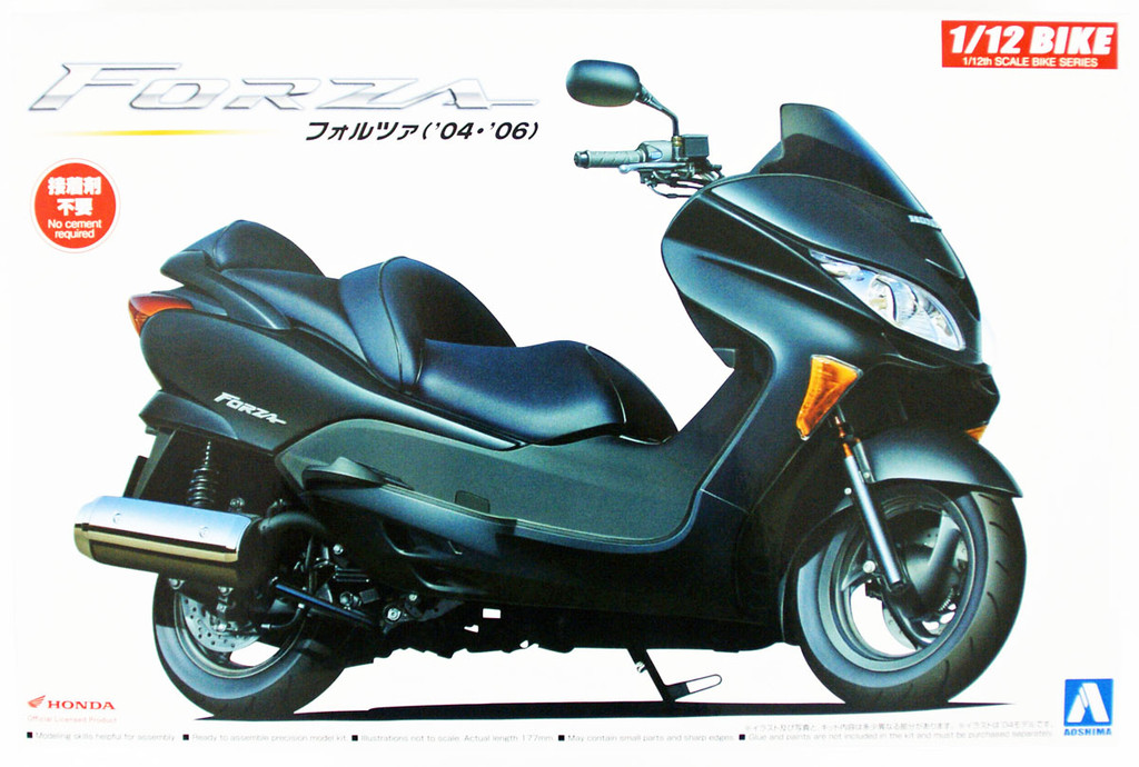 Aoshima 54550 Bike 50 54550 Honda FORZA 1/12 scale kit