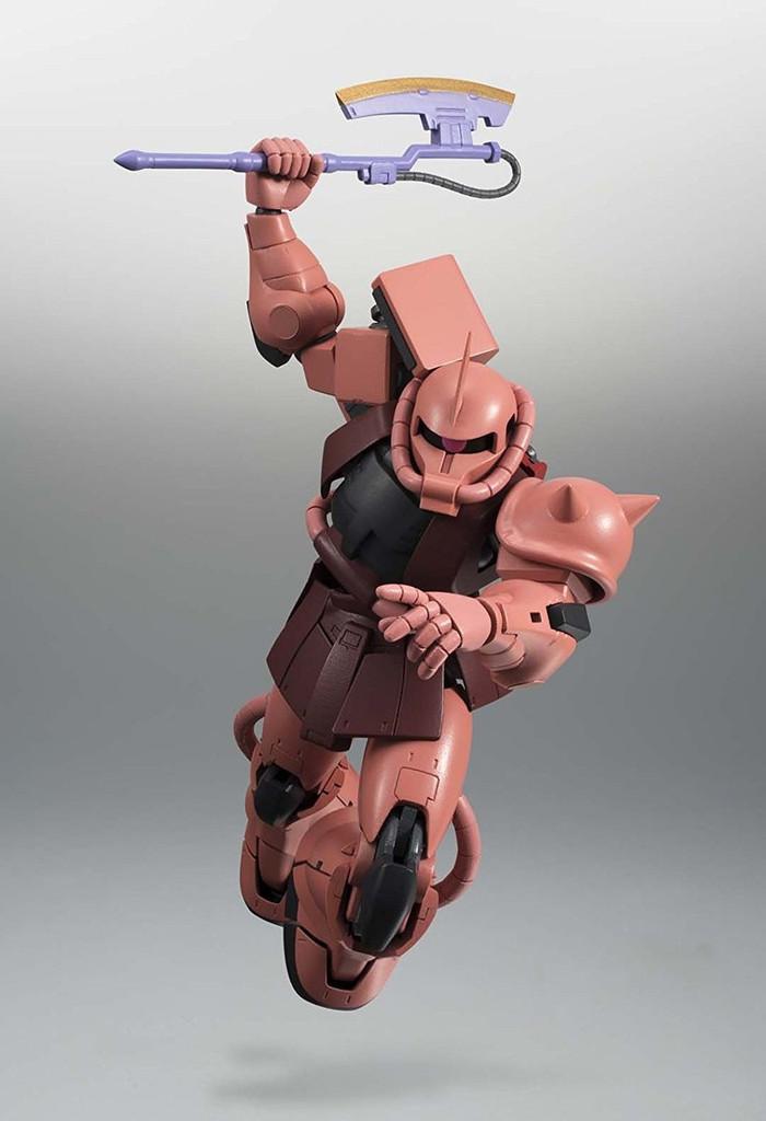 Bandai 038207 Robot Tamashii MS-06S Char's Zaku II ver. A.N.I.M.E. Figure
