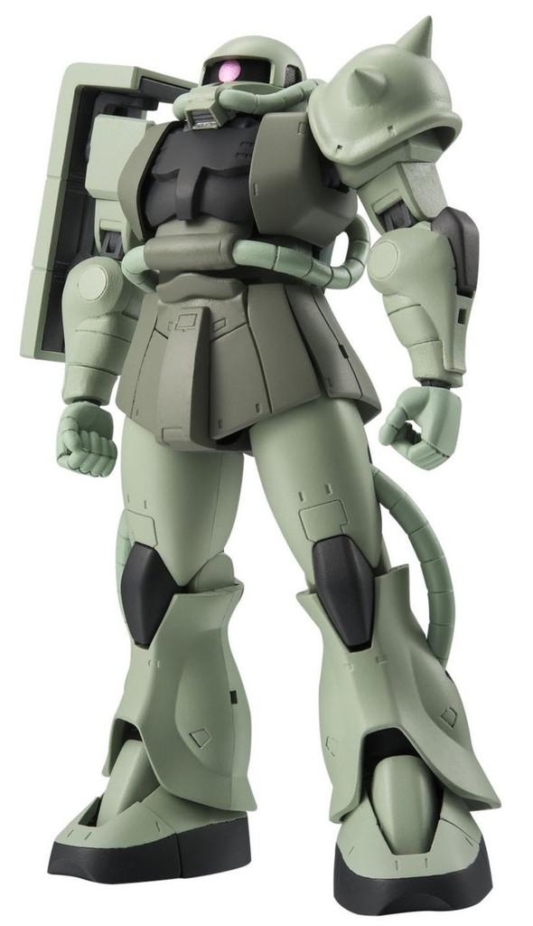 Bandai 040767 Robot Tamashii Gundam MS-06 Zaku II Mass Production ver. A.N.I.M.E. Figure