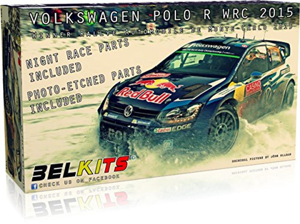 Aoshima (BELKitS) 03166 Volkswagen Polo R WRC 2015 1/24 Scale Kit
