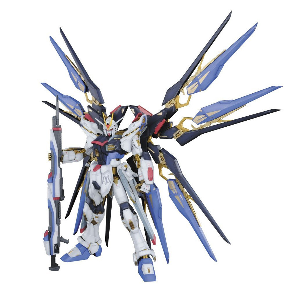Bandai PG 655066 Strike Freedom Gundam (Gundam Seed Destiny) 1/60 Scale Kit