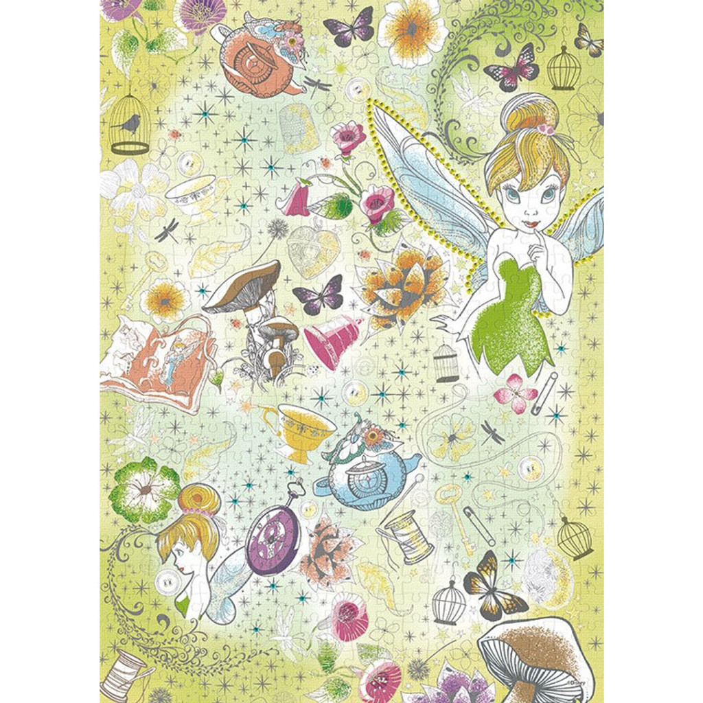 Epoch Jigsaw Puzzle Decoration 74-005 Disney Tinker Bell (500 Pieces)