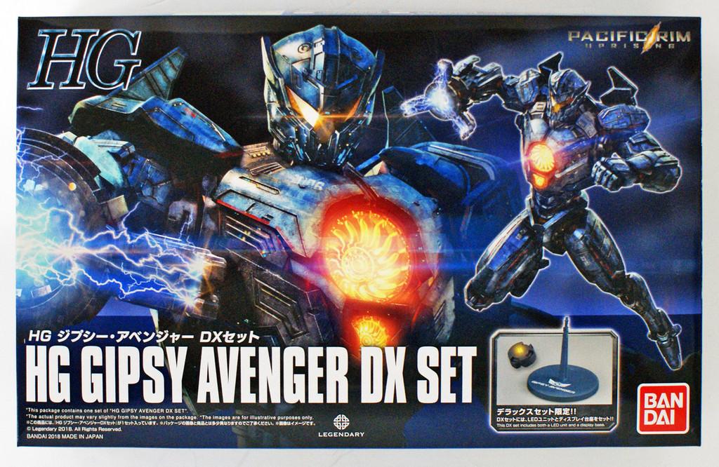 Bandai HG 257707 Pacific Rim Gypsy Avenger DX Set Plastic Model Kit