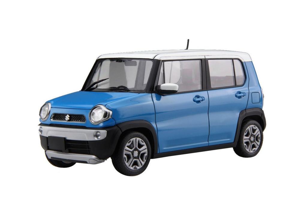 Fujimi 066028 Suzuki Hustler (Summer Blue Metalic) 1/24 scale kit