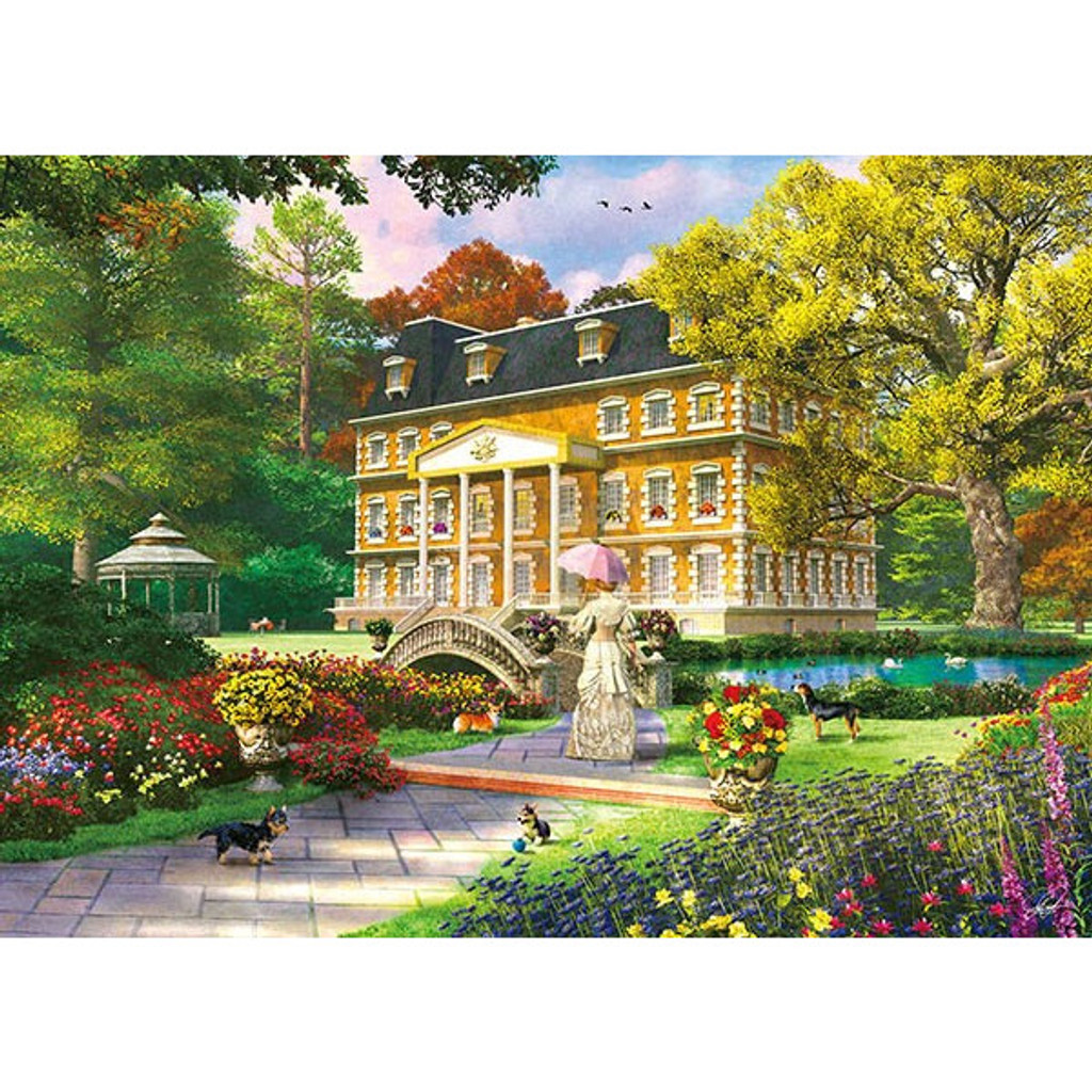 APPLEONE Jigsaw Puzzle 500-246 Dominic Davison Royal Garden (500 Pieces)