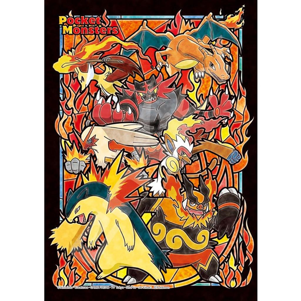 fire pokemon in crystal