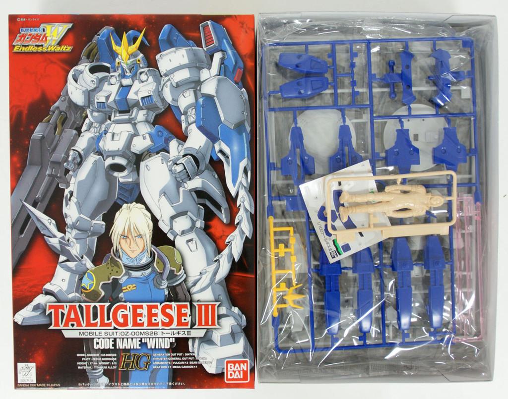 Bandai 571317 GUNDAM W Endless Waltz Tallgeese III 1/100 scale kit