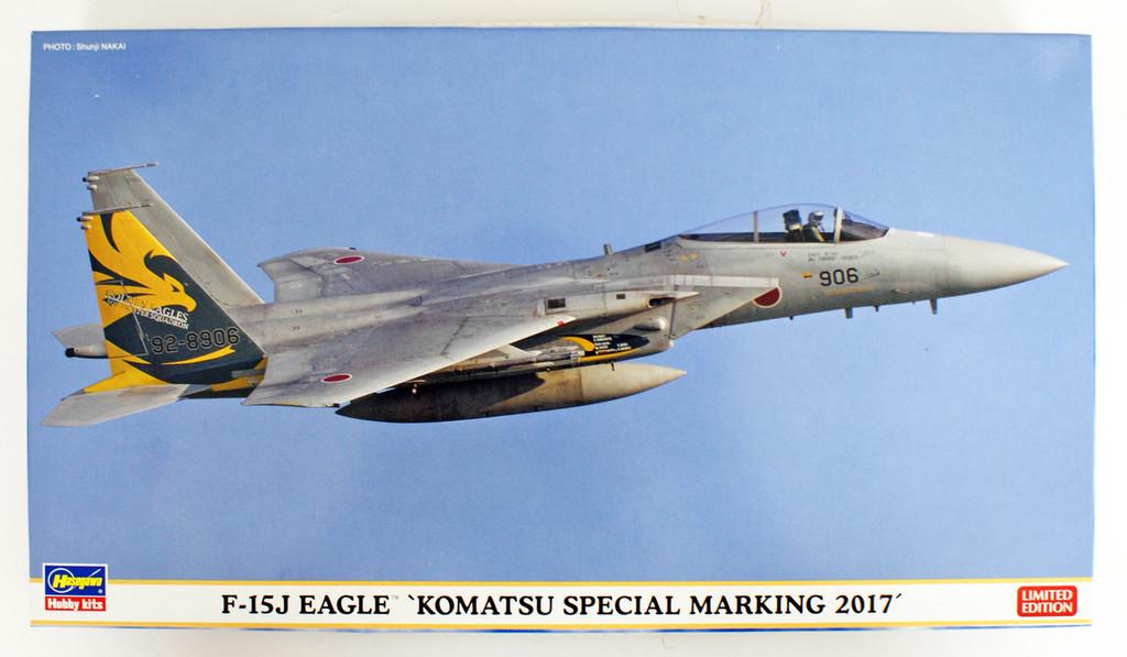 Hasegawa 02272 F-15J Eagle 'Komatsu Special Marking 2017' 1/72 scale kit