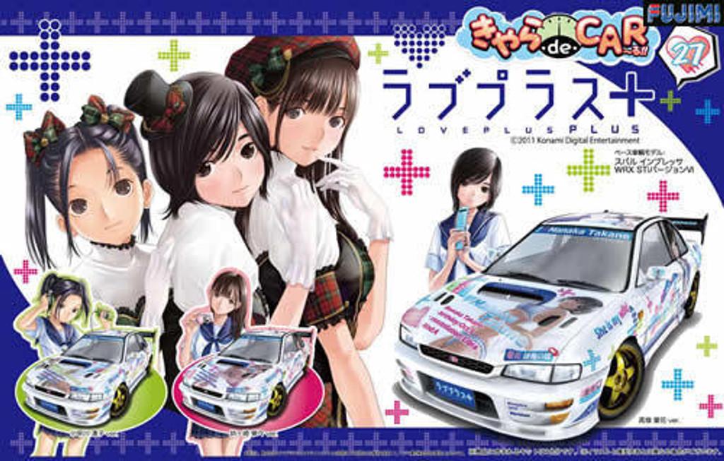 Fujimi CD27 Subaru Impreza WRX STi Love Plus+ 1/24 Scale Kit