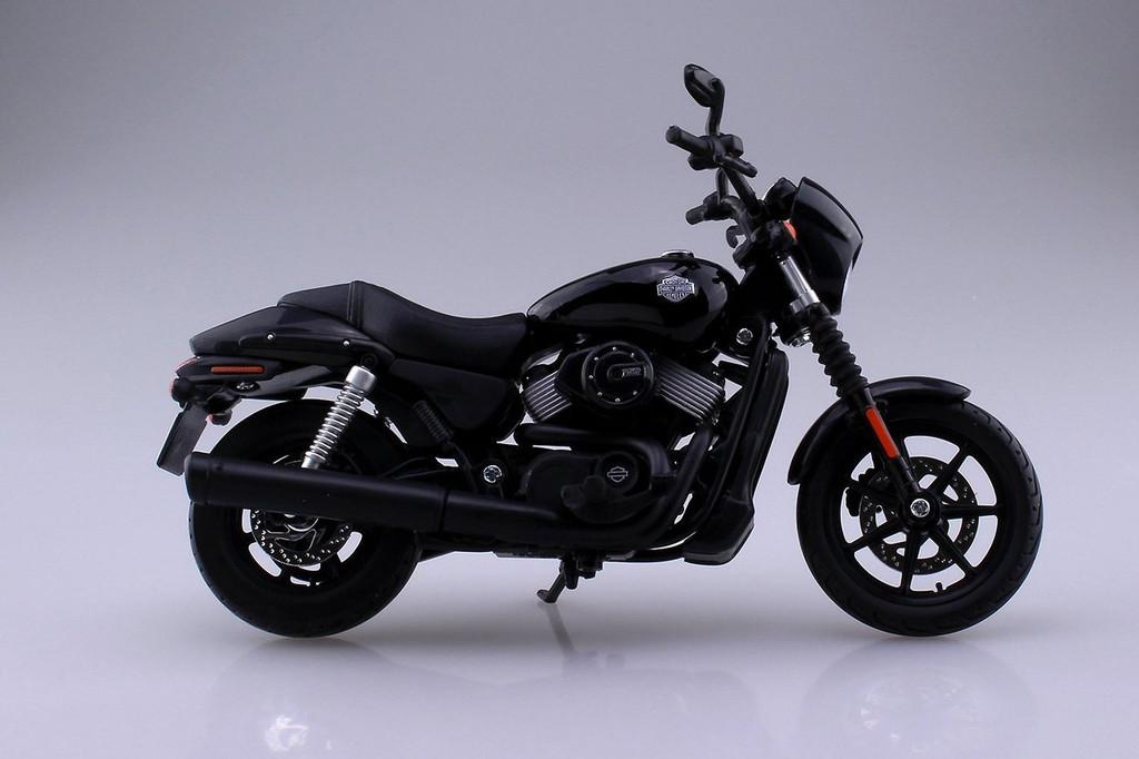 Aoshima Skynet 04439 Harley-Davidson 2015 Street 750 1/12 Scale Finished Model
