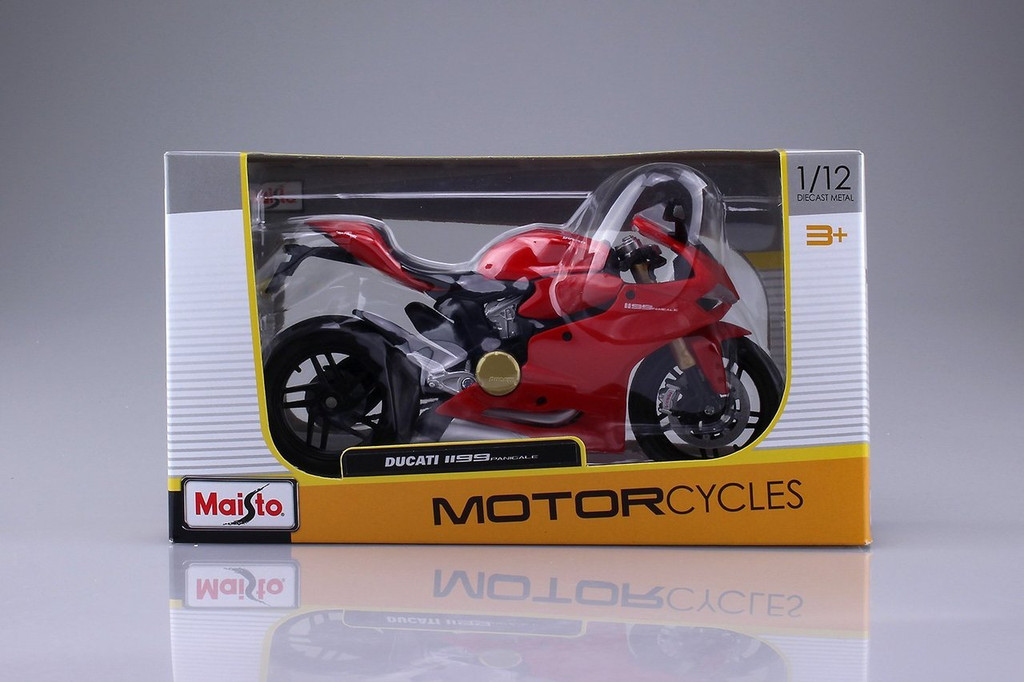 Aoshima Skynet 04507 Ducati 1199 Panigale 1/12 Scale Finished Model