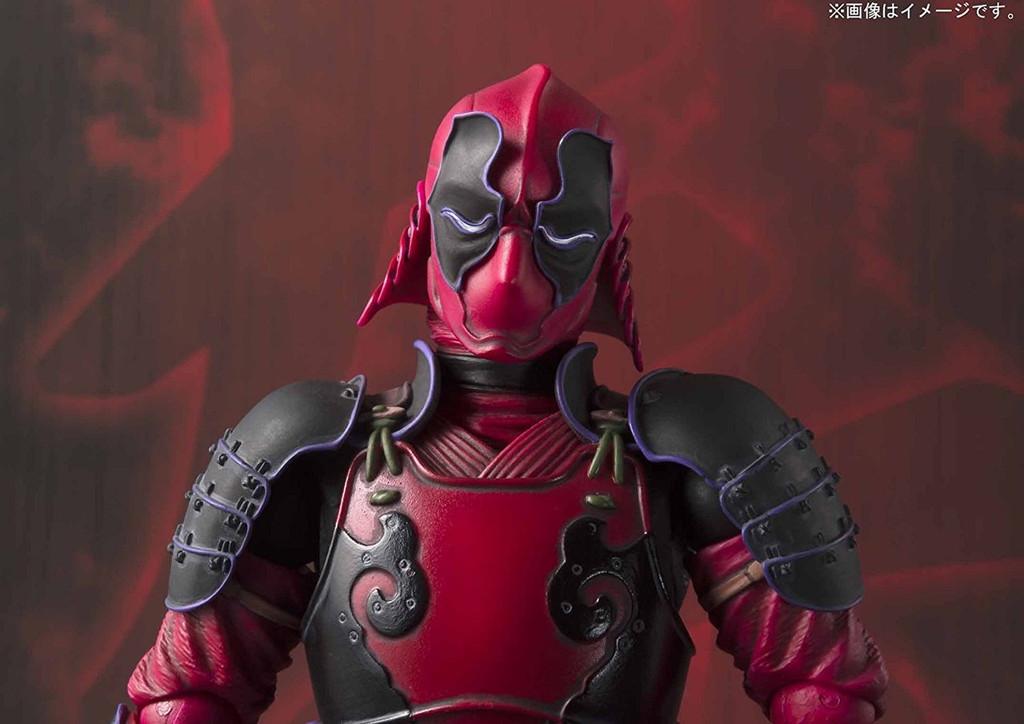 Bandai 225867 Meisho Manga Realization Kabukimono Deadpool Figure