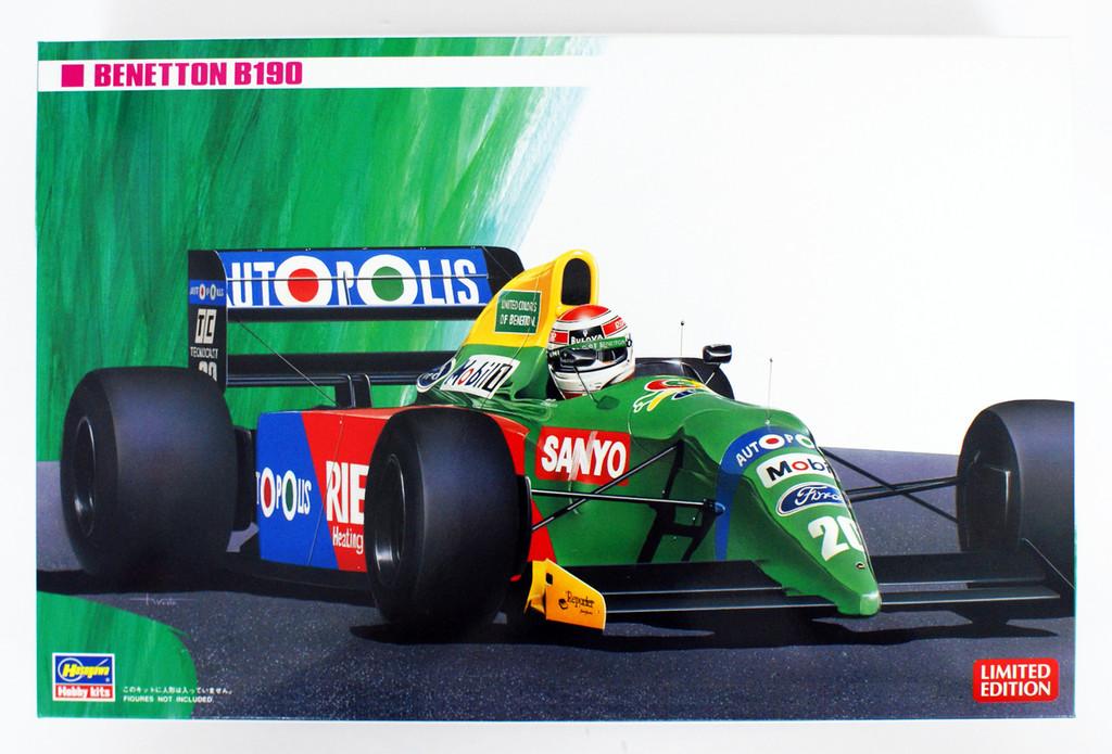 Hasegawa 20340 Benetton Ford B190 1/24 scale kit