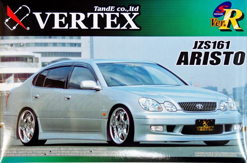 Aoshima 42335 Toyota Aristo (JZS161) VERTEX FULL AERO 1/24 Scale Kit