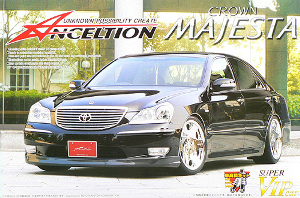 Aoshima 42359 Toyota Majesta UZS186 Anceltion 1/24 Scale Kit
