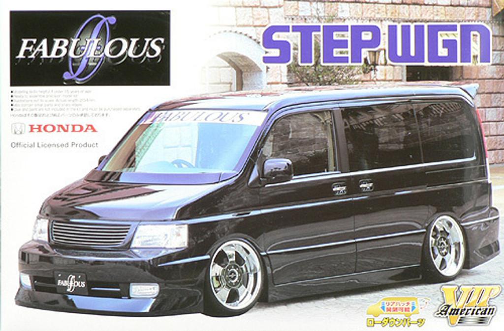 Aoshima 46821 Honda Step Wgn (Wagon) Fabulous Design 1/24 Scale Kit