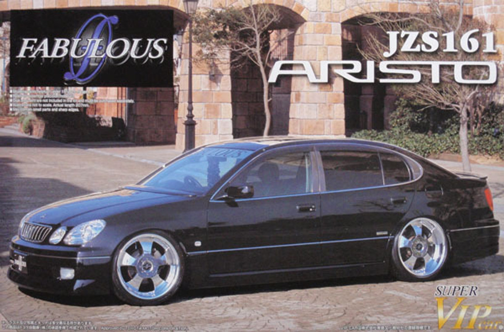 Aoshima 46951 Toyota Aristo JZS161 Fabulous 1/24 Scale Kit