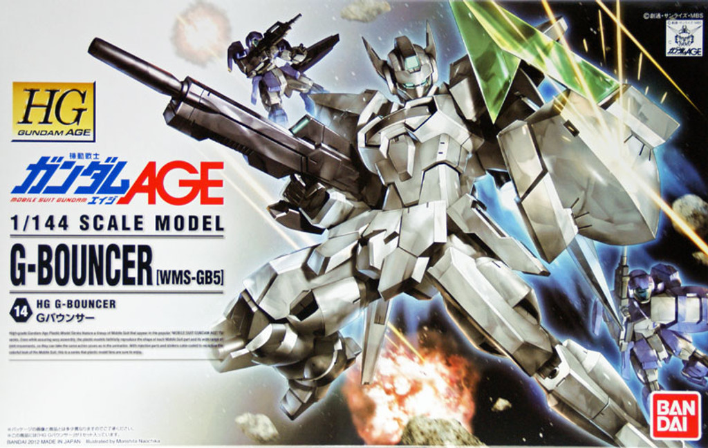 Bandai Gundam HG AGE-14 G-BOUNCER (WMS-GB5) 1/144 Scale Kit