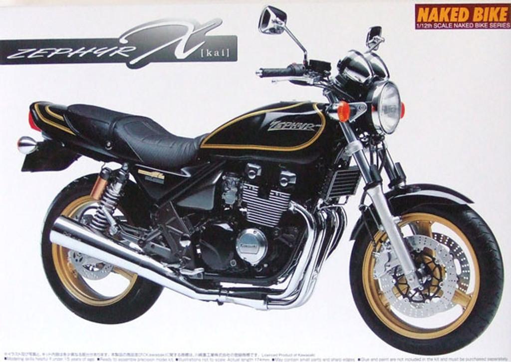 Aoshima Naked Bike 07 48559 Kawasaki ZEPHYR X Kai 1/12 Scale Kit