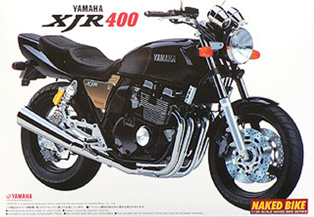 Aoshima Bike 13 41796 Yamaha XJR400 1/12 scale kit