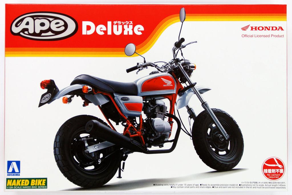 Aoshima Naked Bike 57 47675 Honda Ape 50 Deluxe 1/12 Scale Kit