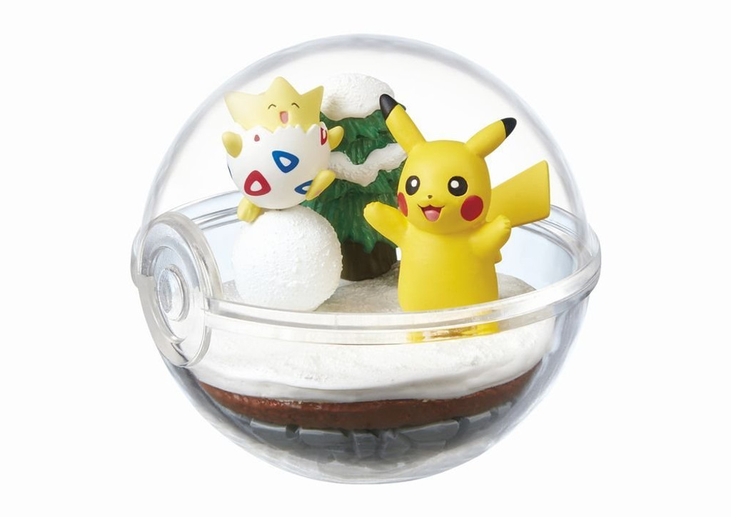 Re-ment 203935 'Pokemon Terrarium Collection 2' 6 Figure Complete set
