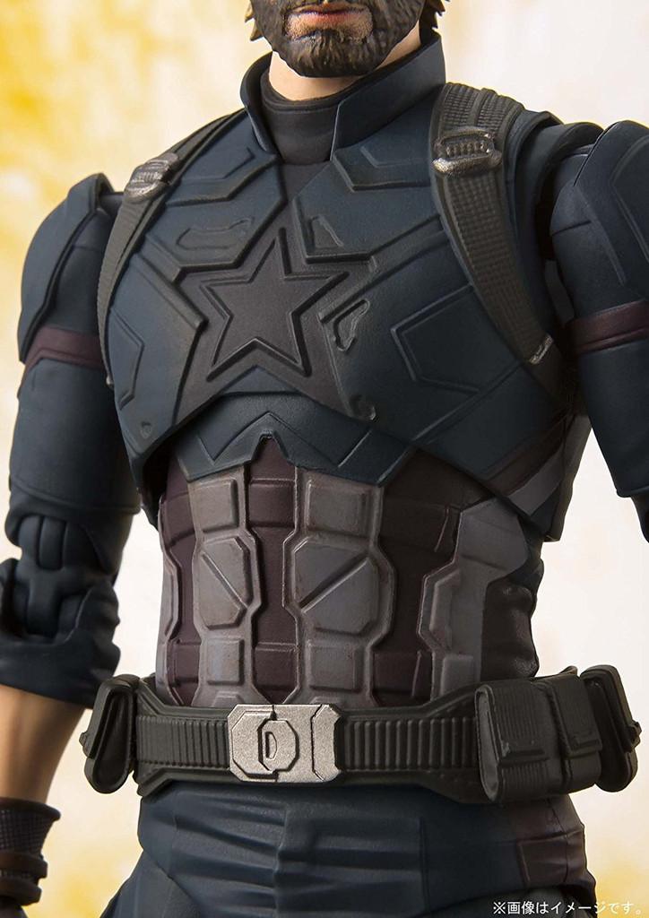 Bandai S.H. Figuarts Captain America Figure (Avengers: Infinity War)
