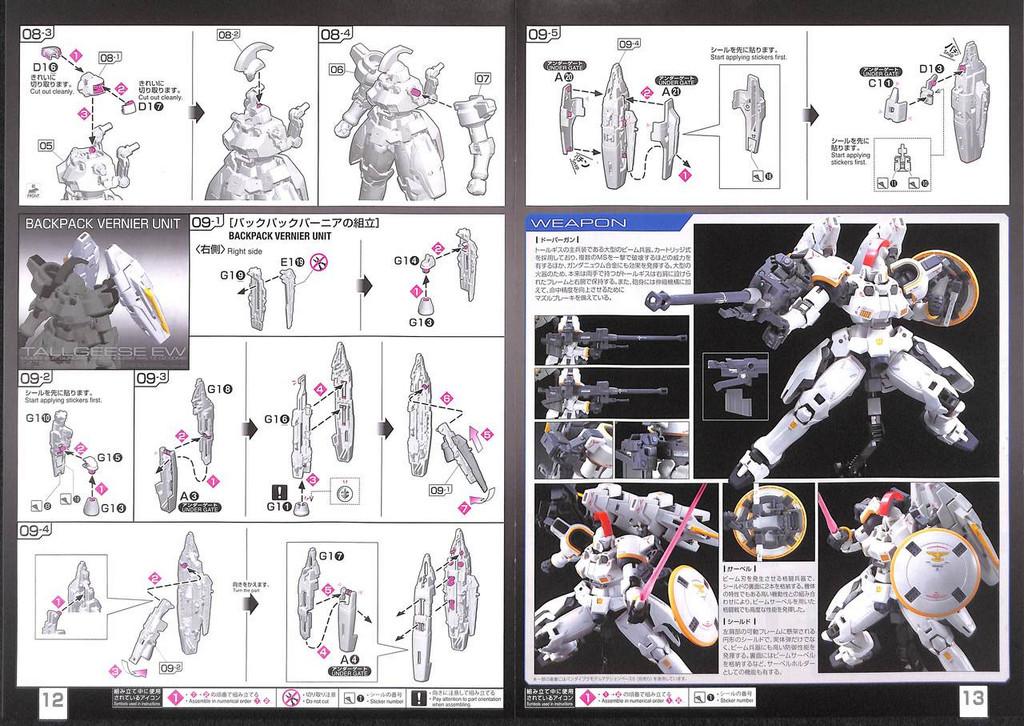 Bandai RG Gundam Tallgeese Endless Waltz 1/144 Scale Kit 257400