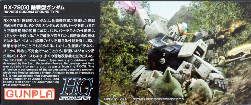 Bandai HGUC 210 Gundam Ground Type 1/144 Scale Kit