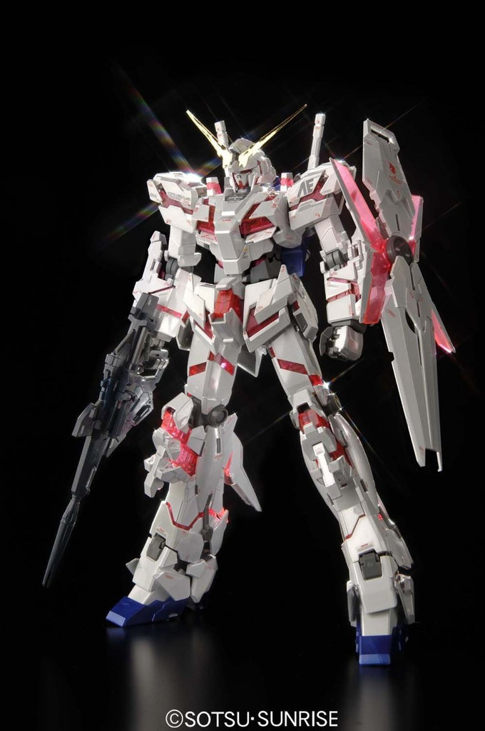 Bandai MG 584717 Unicorn Gundam Ver. Ka Titanium Finish 1/100 scale kit