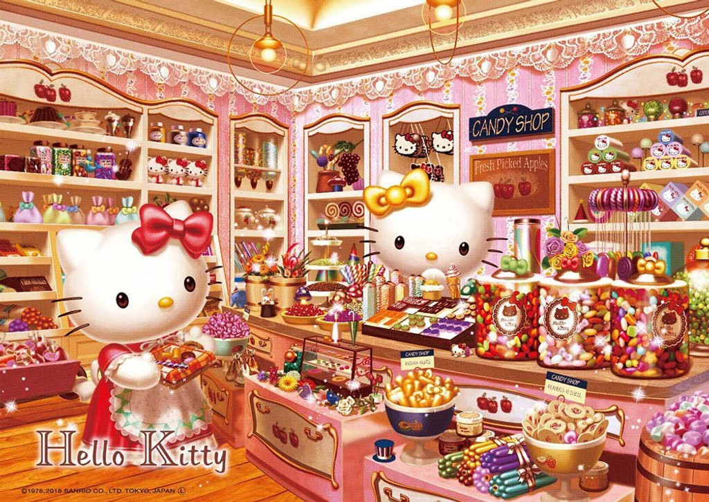 Beverly Jigsaw Puzzle 108-821 Hello Kitty Candy Shop (108 Pieces)