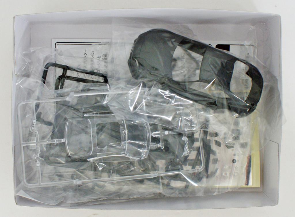 Aoshima 55977 Toyota 86 Dark Grey Metallic 1/32 pre-painted kit